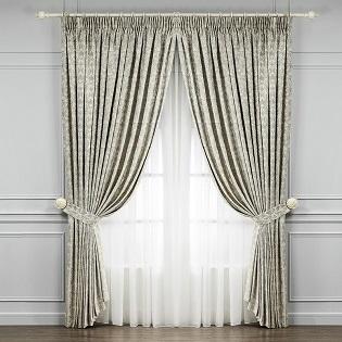 Классические шторы. Цена ткани указана за погонный метр